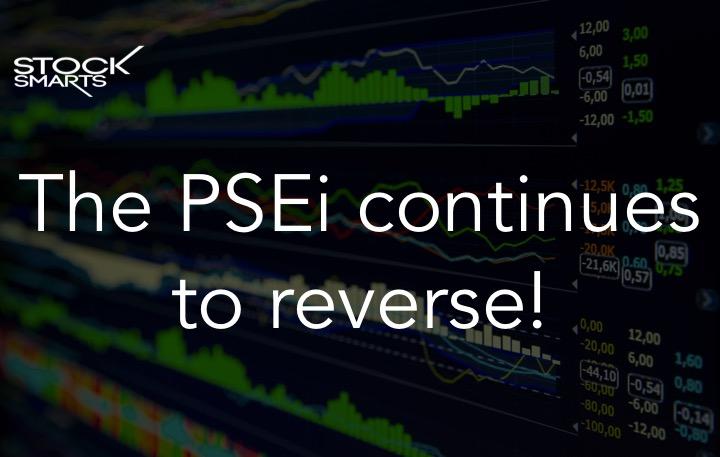 PSEi reversal