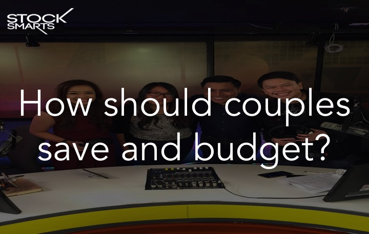 Couples saving and budgeting