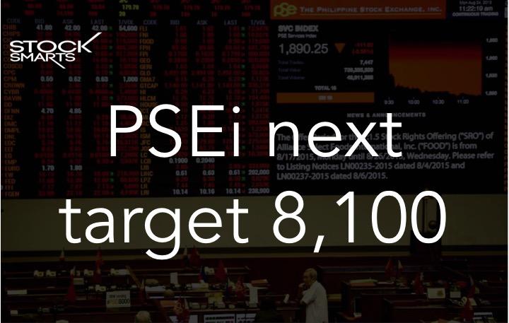 PSEI taget 8100